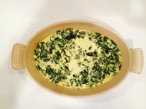 spinach flan recipe