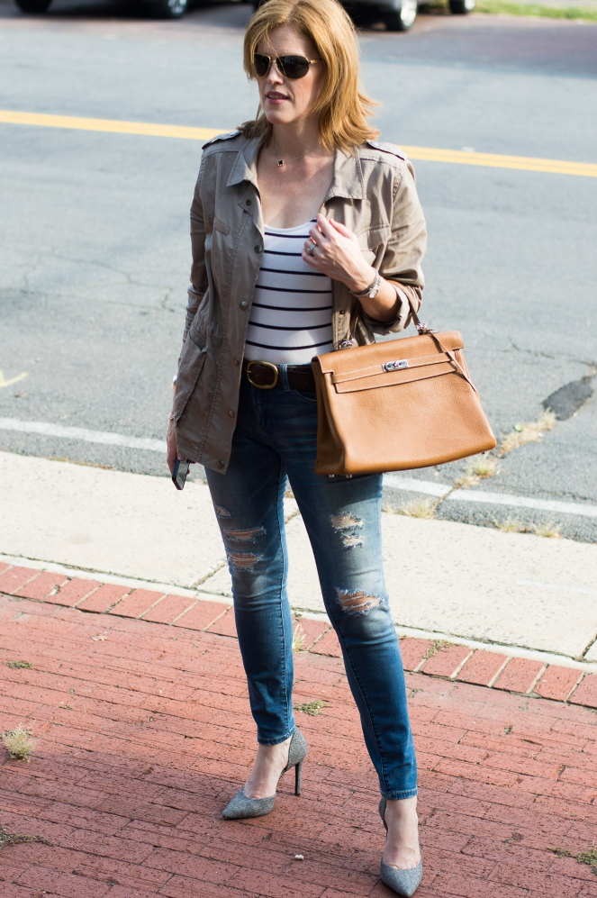 French Chic Fall Weeekend Outfit