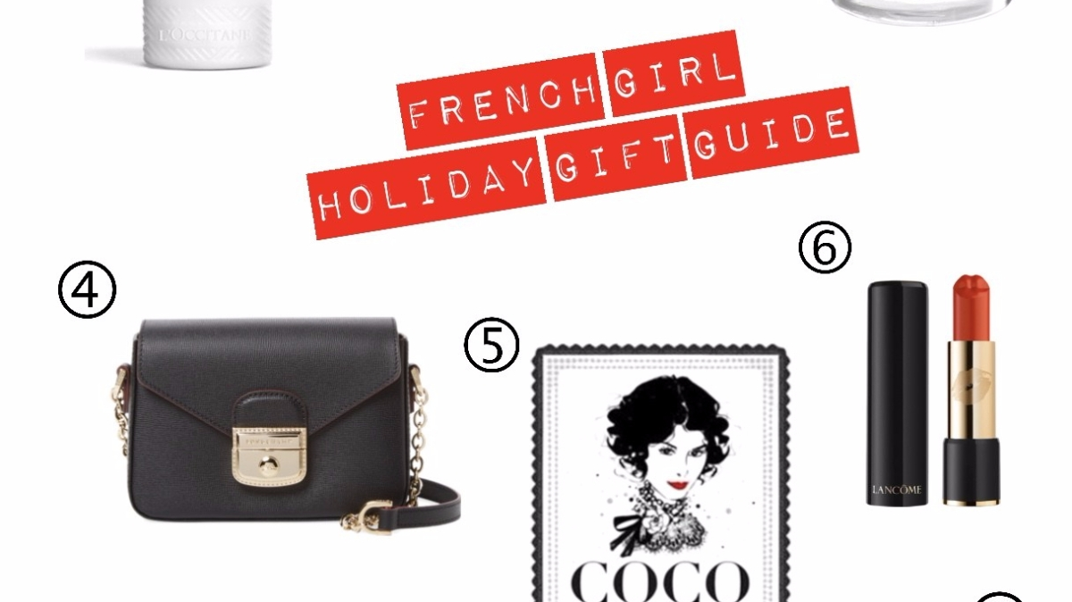 French Girl's Holiday Gift Guide