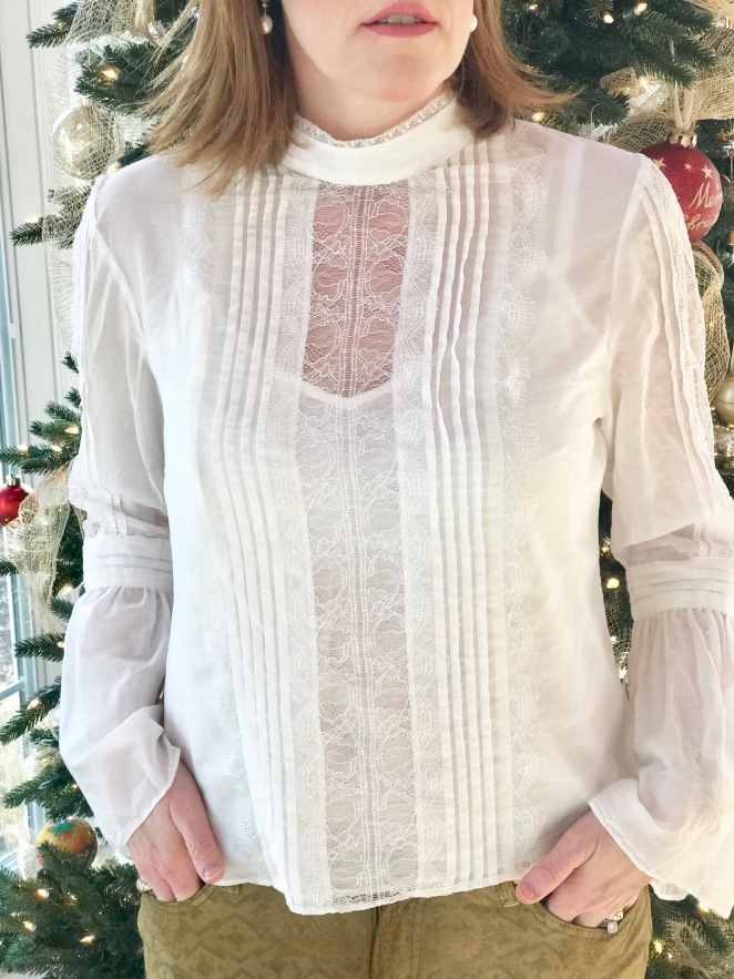 French Holiday Chic Look & Our Christmas Tradition