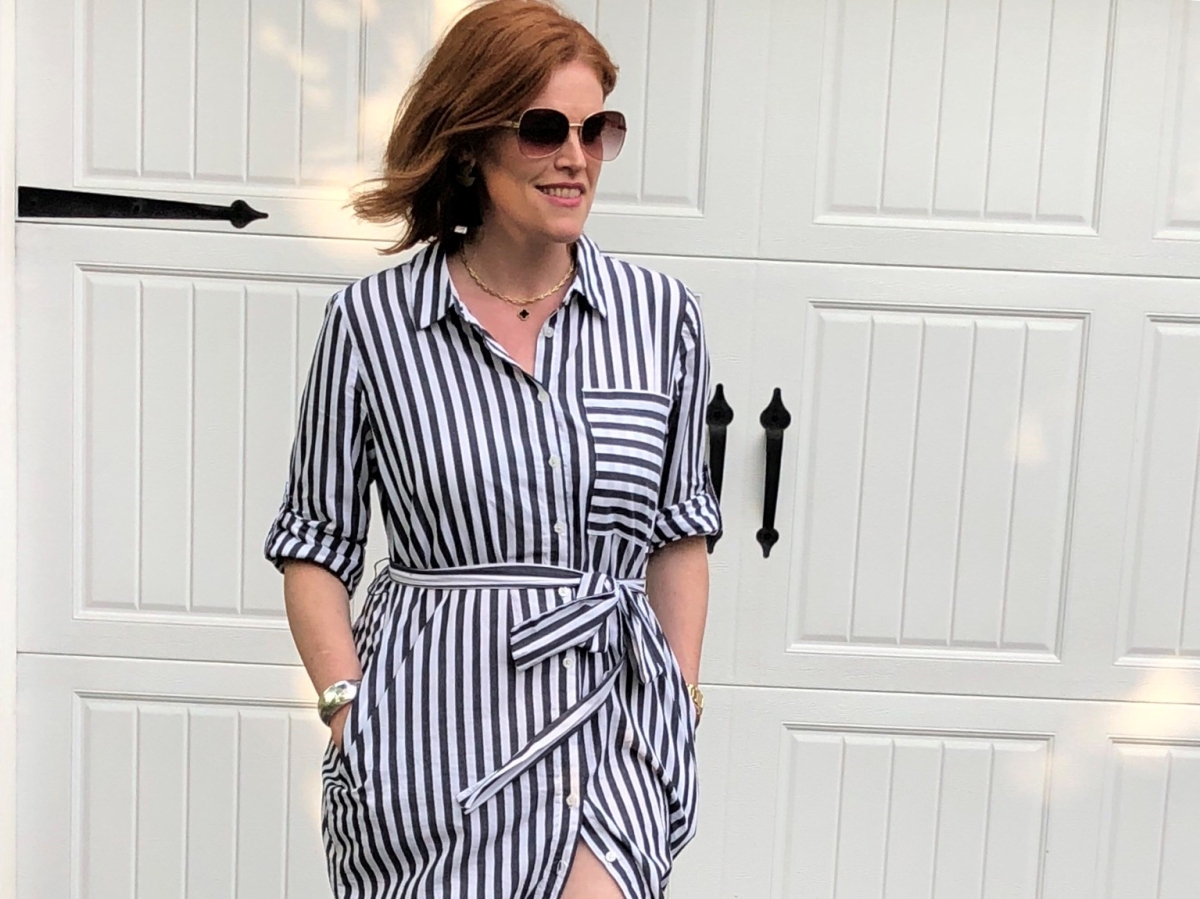 French Chic Summer Essential: The Shirt Dress