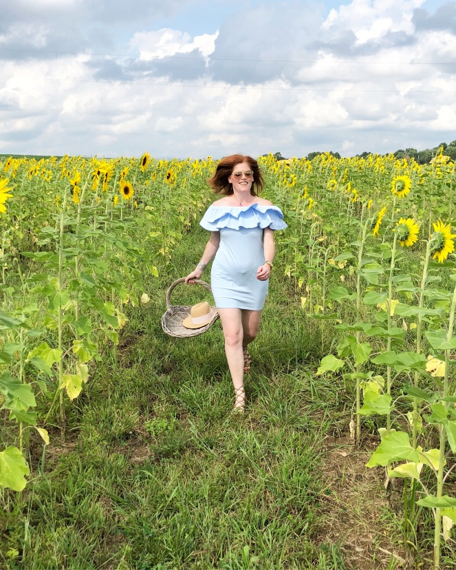 Sunflowers Picking & Thoughts on Self-Care