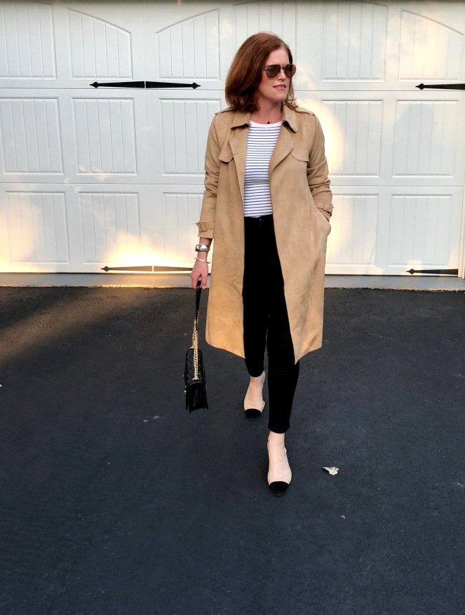How to Wear a Trench Coat the Parisian Way